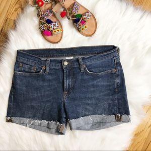 Lucky Brand Sz 10/30 cut off blue jean denim short